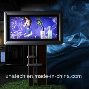 Advertising Photo Banner Flex Frame LED Curtain Strips Luminous Scroller Unipole Sign pictures & photos