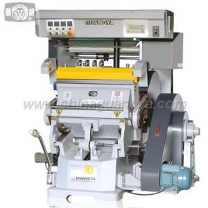 Hot Foil Stamping and Die Cutting Machine (TYMC-750)