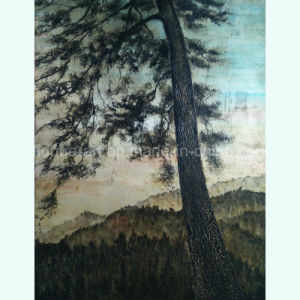 Antique Art Pine Tree Oil Painting for Home Decor (LH-168000) pictures & photos