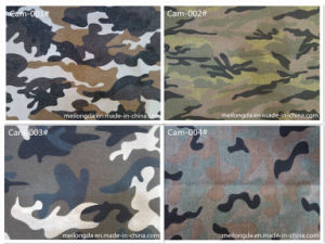 Cotton Camouflage Fabric for Military Uniform (Cam-001#)
