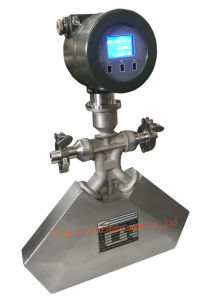 Coriolis Mass Flow Meter for LPG, Liquid and Gas pictures & photos