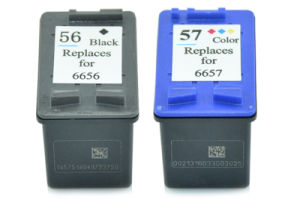 Factory Price C6656A/ #56 Refillable Ink Cartridge for HP 5550/7150/7550/5510 pictures & photos