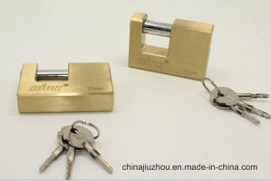 70mm Rectangle Brass Padlock (BX970) pictures & photos