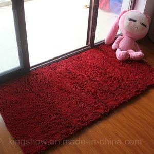 Home Microfiber Polyester Chenille Carpet Door Mat (60*90)