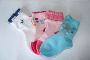 Babies Cotton Soft Socks pictures & photos