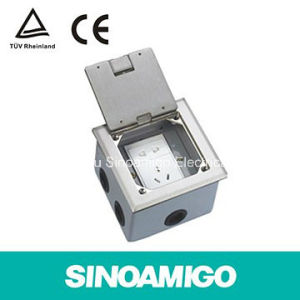Open Type Sop Stainless Hinged Floor Outlet Boxes pictures & photos