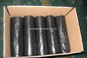 HDPE Drawstring Plastic Garbage Bags/Hospital Waste Bags pictures & photos
