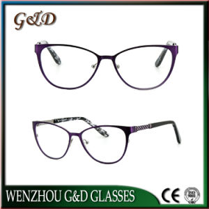 New Design Eyeglass Frames Eyewear Optical Metal Frame pictures & photos