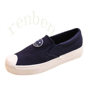 New Hot Women′s Footwear Casual Canvas Shoes pictures & photos