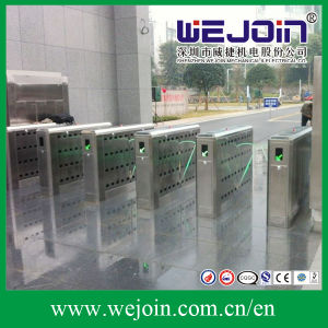 Full-Automatical Flap Barrier Gate with Secure Functions pictures & photos