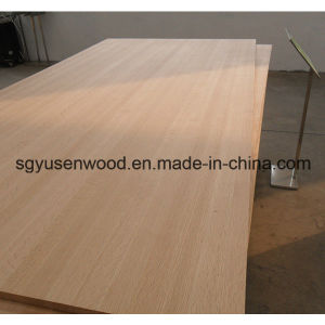 15mm 18mm 20mm Wood Veneer Faced Melamine Laminated MDF pictures & photos