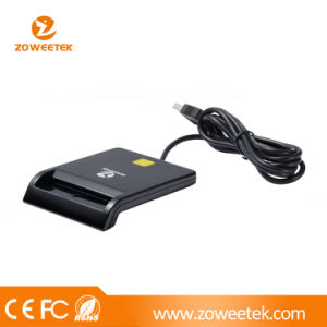 USB Single Smart Card Reader (support ID/ATM/IC/CAC/Credit Card) pictures & photos