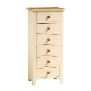 Emmi Painted Tall Chest of Drawers (HSPR0029)
