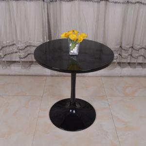 Wooden Black Round Restaurant Furniture Saarinen Style Tulip Dining Table pictures & photos