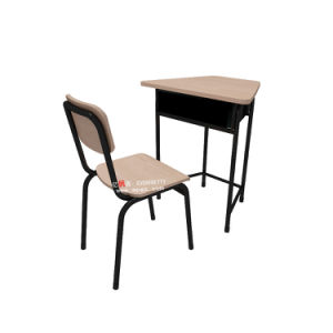 Modern School Classroom Furniture Student Single Desk and Chair pictures & photos