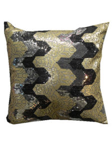 Decorative Pillow Case Sr-C170223-9 High Fashion Sequin Decorative Cushion pictures & photos