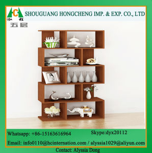 Home Furnituer Wooden Bookshelf pictures & photos
