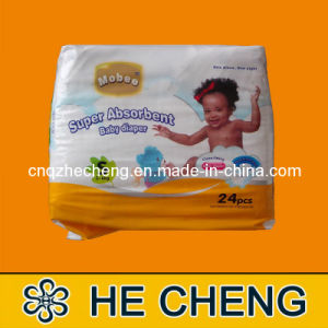 Soft and Dry Baby Diapers in Bales pictures & photos