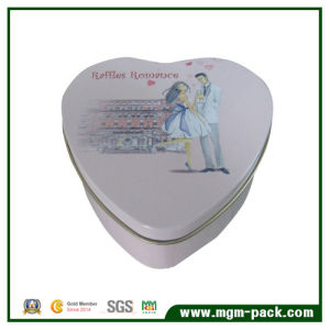 Heart-Shaped Tin Box for Gift and Storage pictures & photos