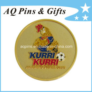 Gold Metal Badge with Soft Enamel (badge-059) pictures & photos