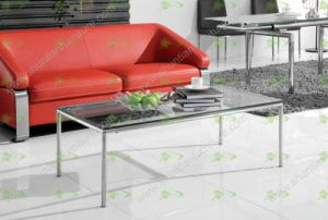 (SJ-098B) Home Furniture Simple Tempered Glass Coffee Table pictures & photos