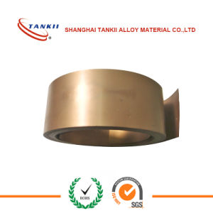 Copper manganese alloy strip(6j12) pictures & photos