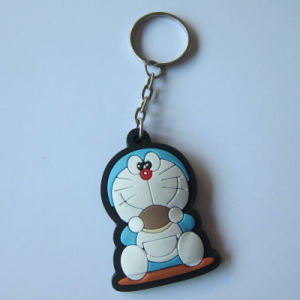 Custom Fashion Plastic Rubber Cartoon Key Chains pictures & photos