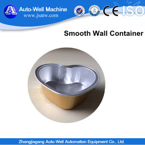 Smooth Wall Right Size Practicality Aluminium Foil Containers for Food pictures & photos