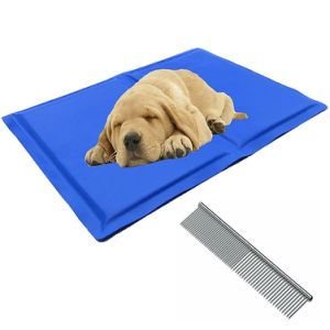 Pet Chilly Gel Mat, Premium Folding Soft Comfort Bed Self Cooling Pad for Dogs Cats Different Sizes pictures & photos