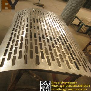 Oblong Hole Perforated Metal From Anping City pictures & photos