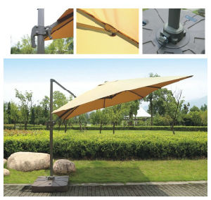 Hz-Um95 10X10ft Square Roma Umbrella Outdoor Umbrella Sun Parasol Beach Umbrella for Garden Umbrella pictures & photos