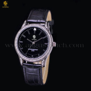 Fashion Luxury Men′s Skeleton Silver Dial Sport Watch