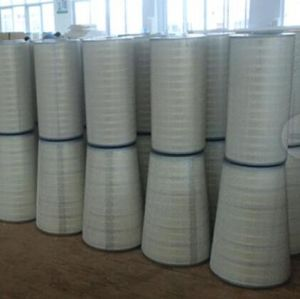 Cylindrical and Conical Air Filter Cartridge Dust Removal pictures & photos