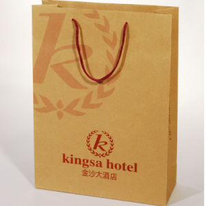 Custom Gift/Garment Kraft Paper Bag/Paper Shopping Bag pictures & photos