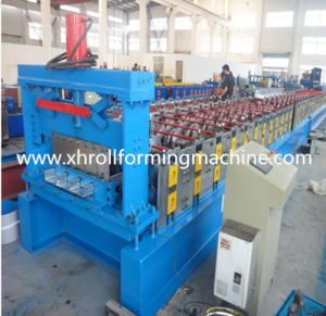 Steel Deck Floor Roll Forming Machine pictures & photos