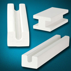 Home Decoration Customize Waterproof PVC Trims and Mouldings pictures & photos
