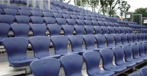 Coolin-I Fixed Seating Arena Seat for Basketball Softball Entertainment Sports Games