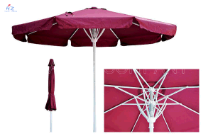 Hz-Um51 10ft Spring Umbrella Outdoor Umbrella Garden Patio Umbrella 3m 10ft Spring Umbrella Outdoor Umbrella Garden Umbrella Sun Umbrella Garden Parasol pictures & photos