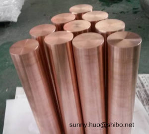 Tungsten Copper Alloy Rod, Wcu Round Bar in Wolfram Alloy (W55, W65, W75, W80, W85) pictures & photos