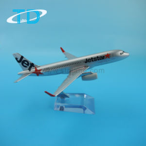 Metal Plane Model Airbus A320neo Jetstar Airlines pictures & photos