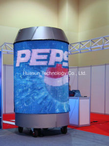 High Brightness and Light Weight Flexible LED Screen pictures & photos