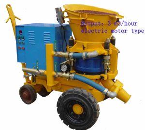 Eternoo Pz-3 Shotcrete Machine with Diesel Engine pictures & photos