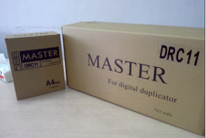 Duplo Dra 11 A4 Master for Use in Dpa120 Machine pictures & photos