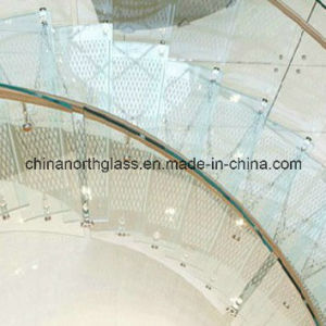 15mm Clear Skidproof Tempered Glass Flooring pictures & photos