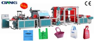 Onl-Xc700-800 Automatic Non-Woven Shopping Bag Making Machine with Handle pictures & photos