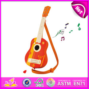 Cheapest Price Wholesale Guitars for Kids, Fashion Wooden Toy Guitar Toy for Children, Hot Sale Wooden Guitar Set Toy W07h034 pictures & photos