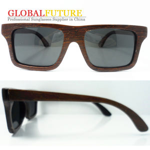 Fashion Polarized Wenge Wood Sunglasses