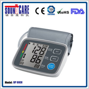 76.8 X 60mm LCD Upper Arm Blood Pressure Monitor (BP80EH) pictures & photos