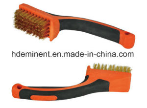The Newest American Style Steel Wire Brush with Wooden Handle, Brush Wire Brush Brass Wire Brush pictures & photos