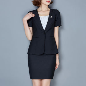Latest Blazer Design Women Business Suit Coat Fashion Blazer Women pictures & photos